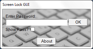 Picture of GUIs in VBScript