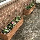 Rustic Garden Planters
