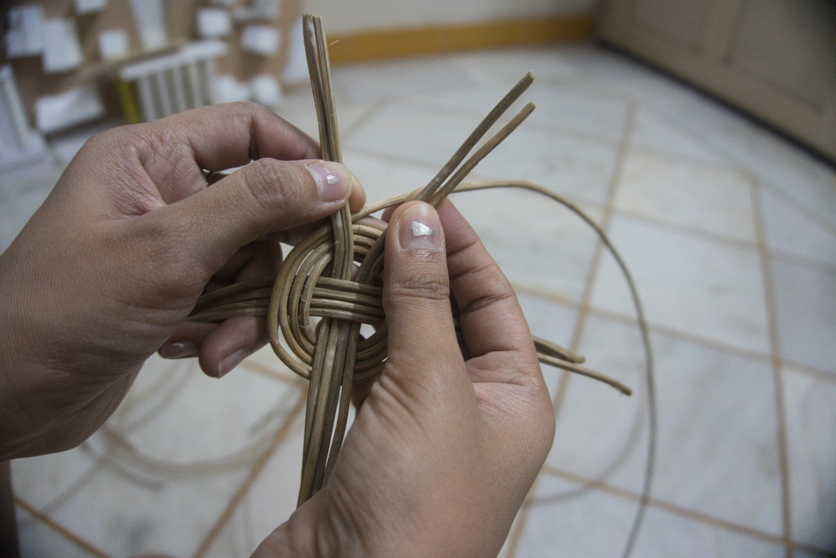Picture of MAKING BASKET