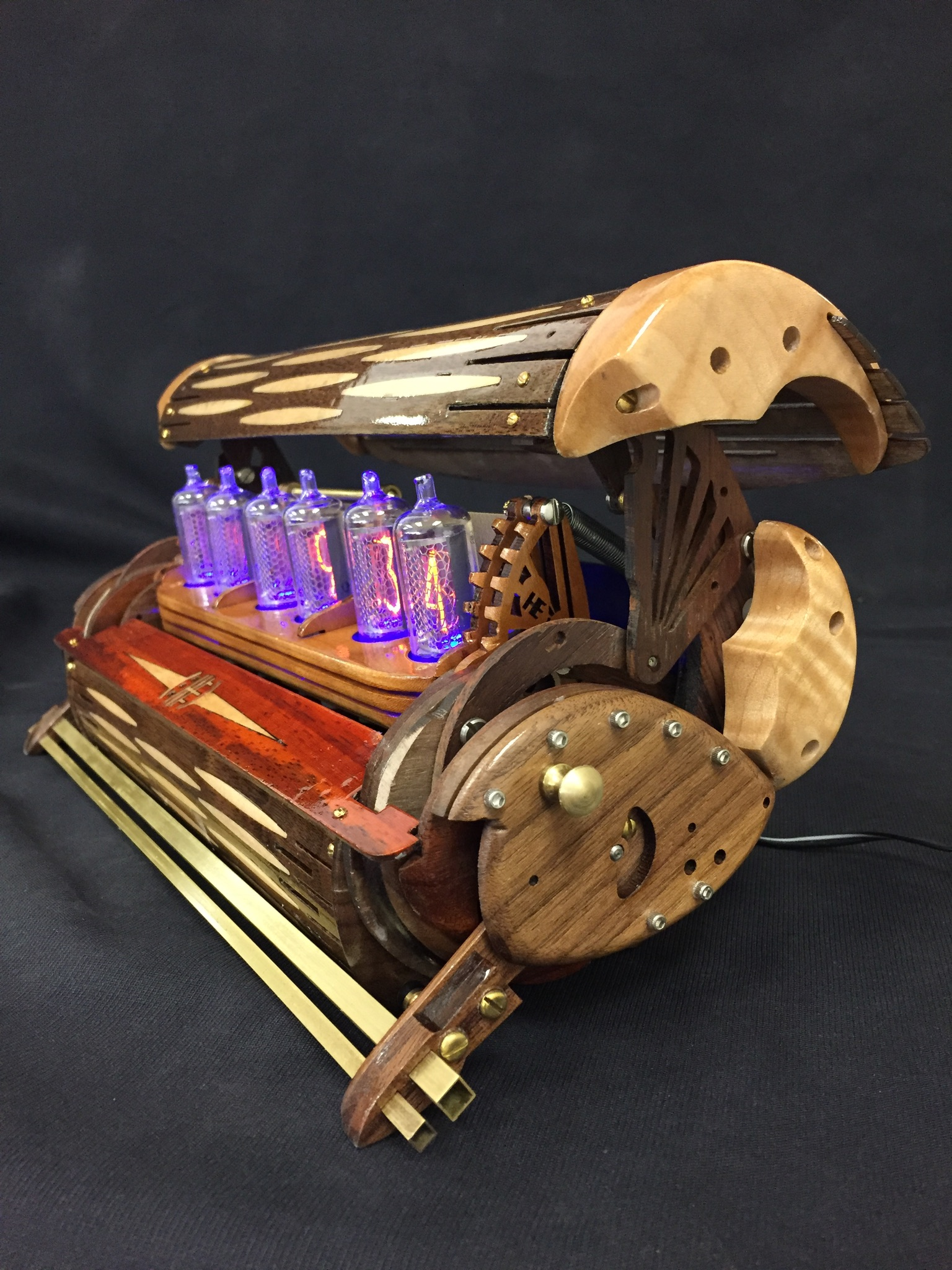 Picture of The White Rabbit Nixie Clock
