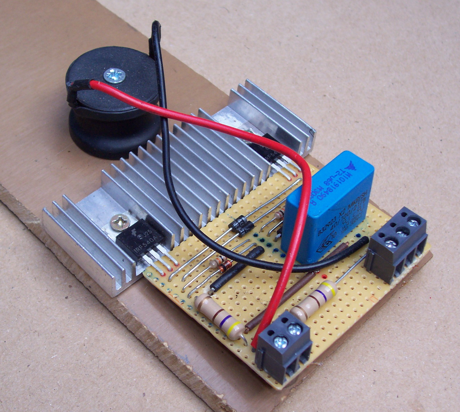 Picture of How to Build a Simple But Powerful Flyback Driver