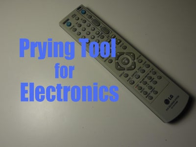 Prying Tool for Electronics