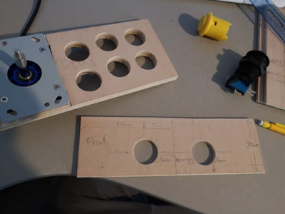 Woodwork- Front Panel (Coin/Start)