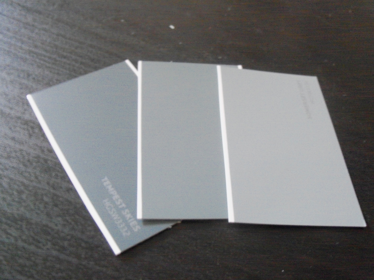 Picture of Cut Out Shapes From Paint Chips