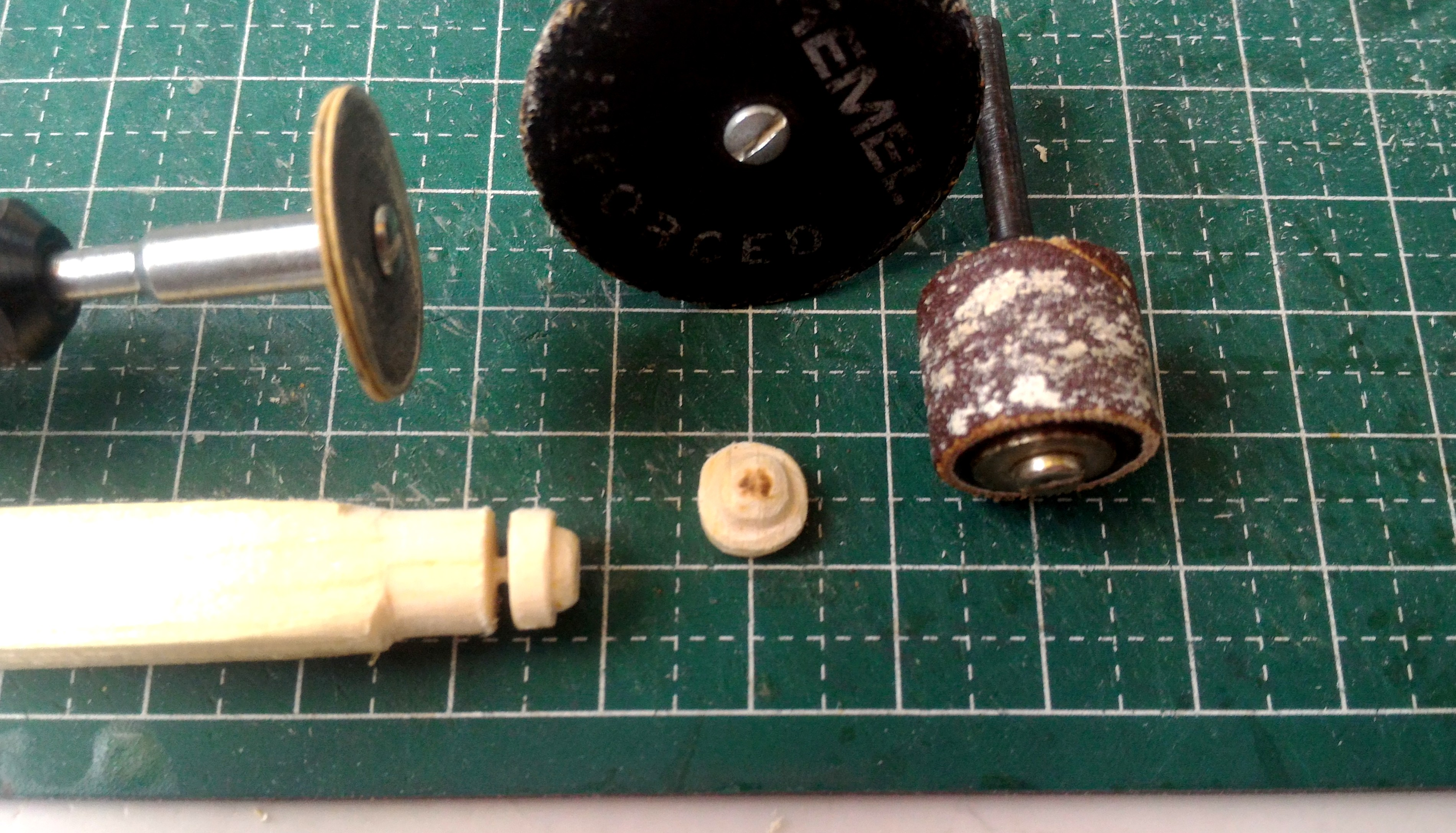 Picture of Heavy Lift Sub-assemblies and Other Small Parts