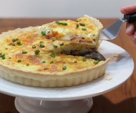 Easy Bacon and Cheese Breakfast Quiche