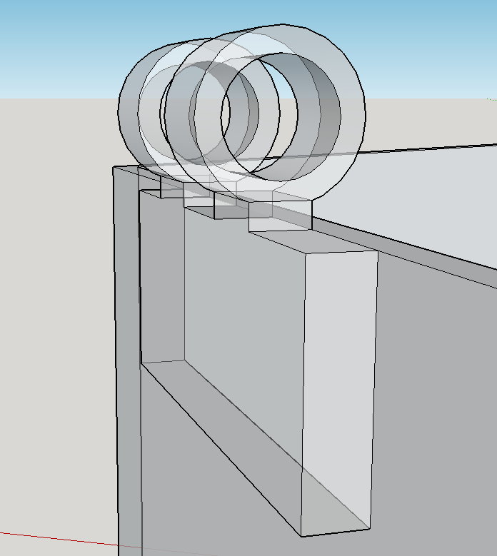 Picture of Connecting the Hinge to the Box