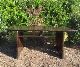 Japanese Style Bench - pallet wood