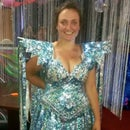 Dress made from Bubble Wrap