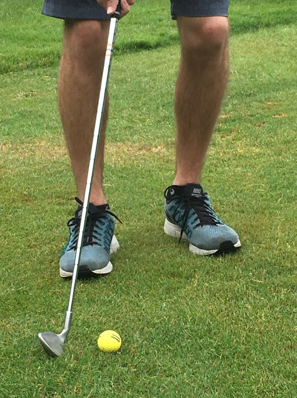 Picture of Position the Ball Near Your Back Foot
