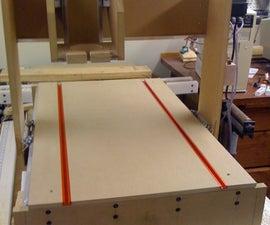 DIY MDF CNC Machine 36x22