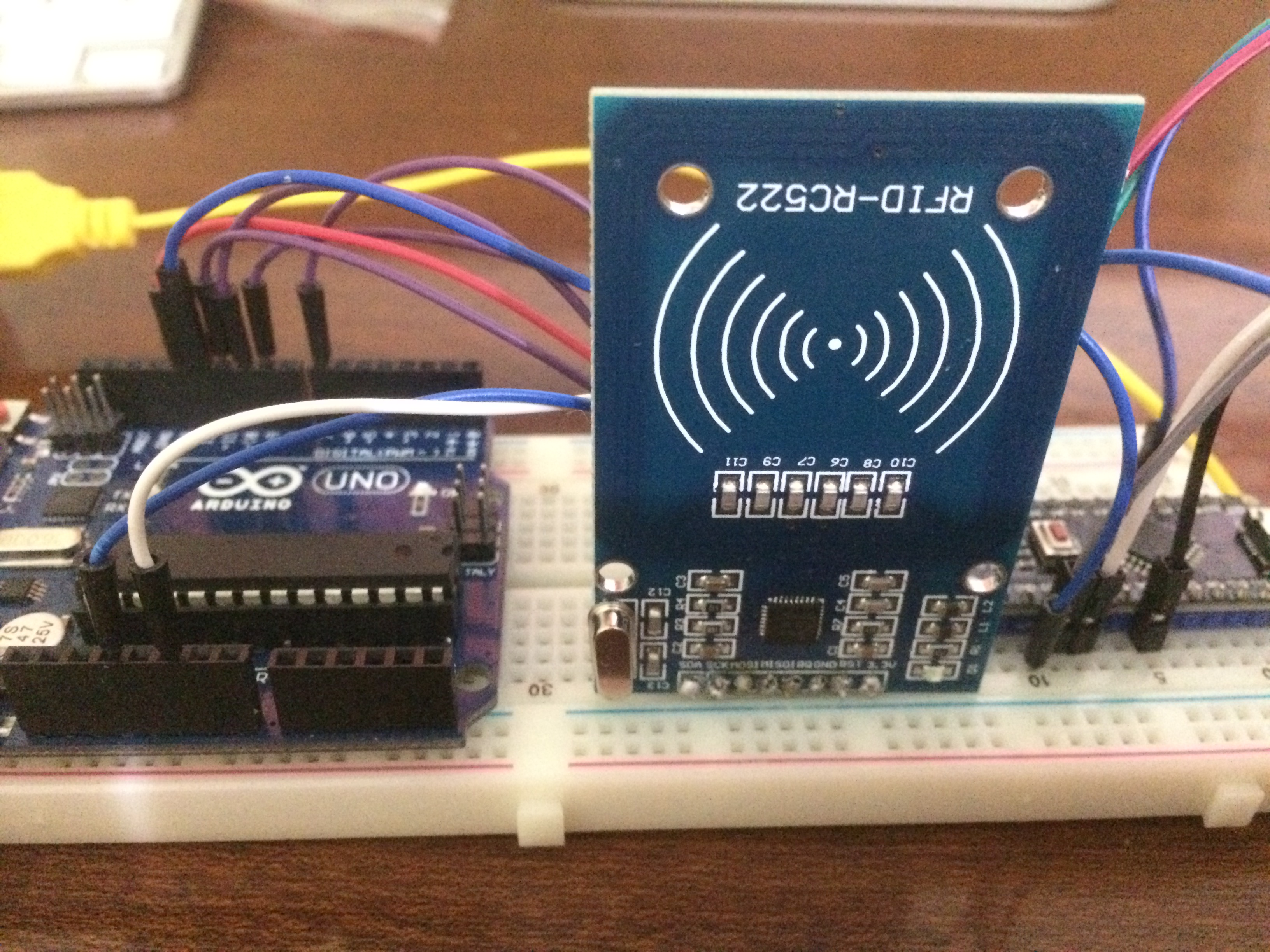 Picture of Keyless-Go System W/Arduino,RC522 RFID