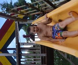 Slide to WATER SLIDE!!!!