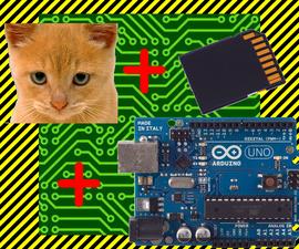 Arduino Cat Detector SD Card Logger