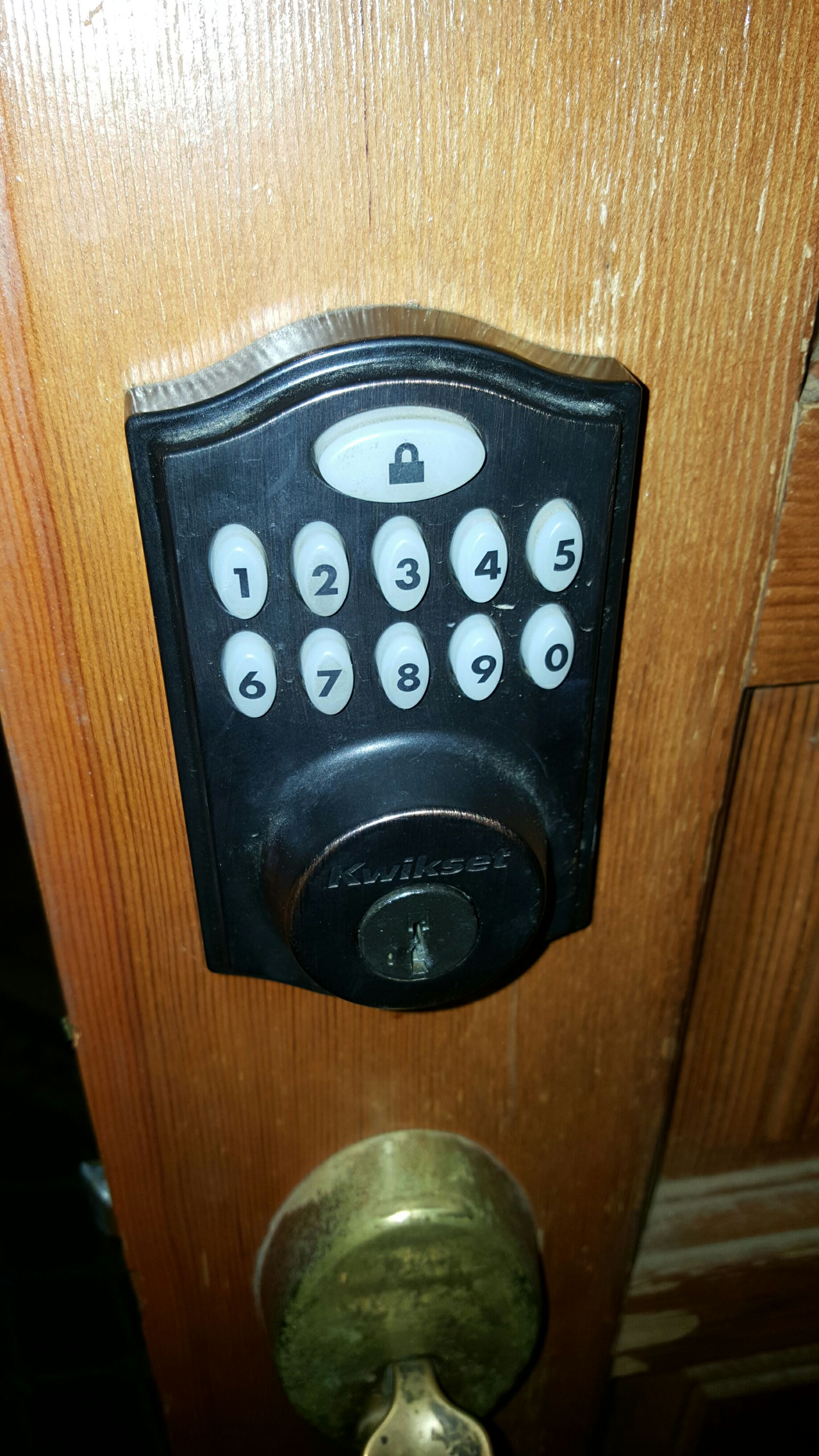 Picture of Disable Home Keypad Hack