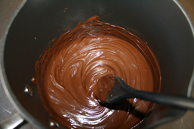 Picture of Melted Chocolate Is the KEY!