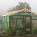 High end greenhouse, 100 % recycled materials