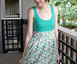 How to Make an Easy Dress (For Cheap!)