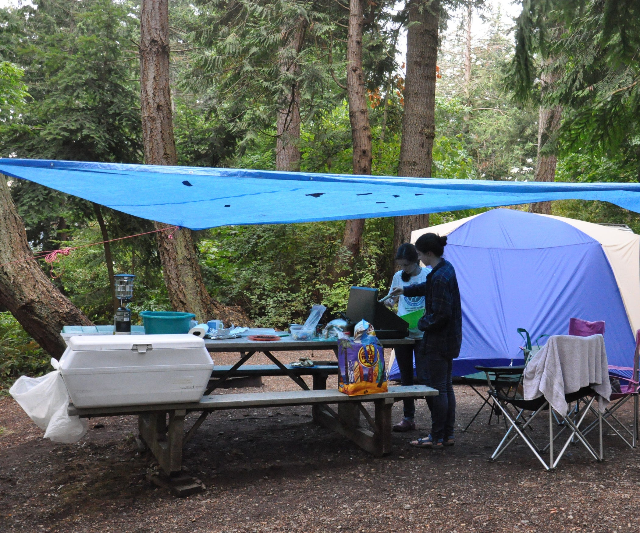 07e48c436ad How to Car-Camp in the Rain: 11 Lifehacks: 11 Steps (with Pictures)