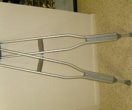 Turn Crutches into Stilts