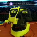 Mona, My Personal Assistant Animatronic Robot