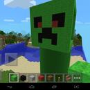 Create a Minecraft Creeper (MCPE)