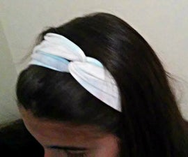 Headband from recycled T-Shirt