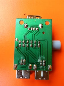 Dissembling and Inspection of the USB Switch