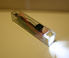 """Flashlight Without Batteries--from the book, """"Haywired"""""""
