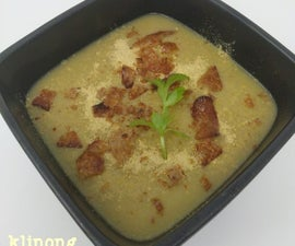 Instant Pot Leek Soup and Bacon