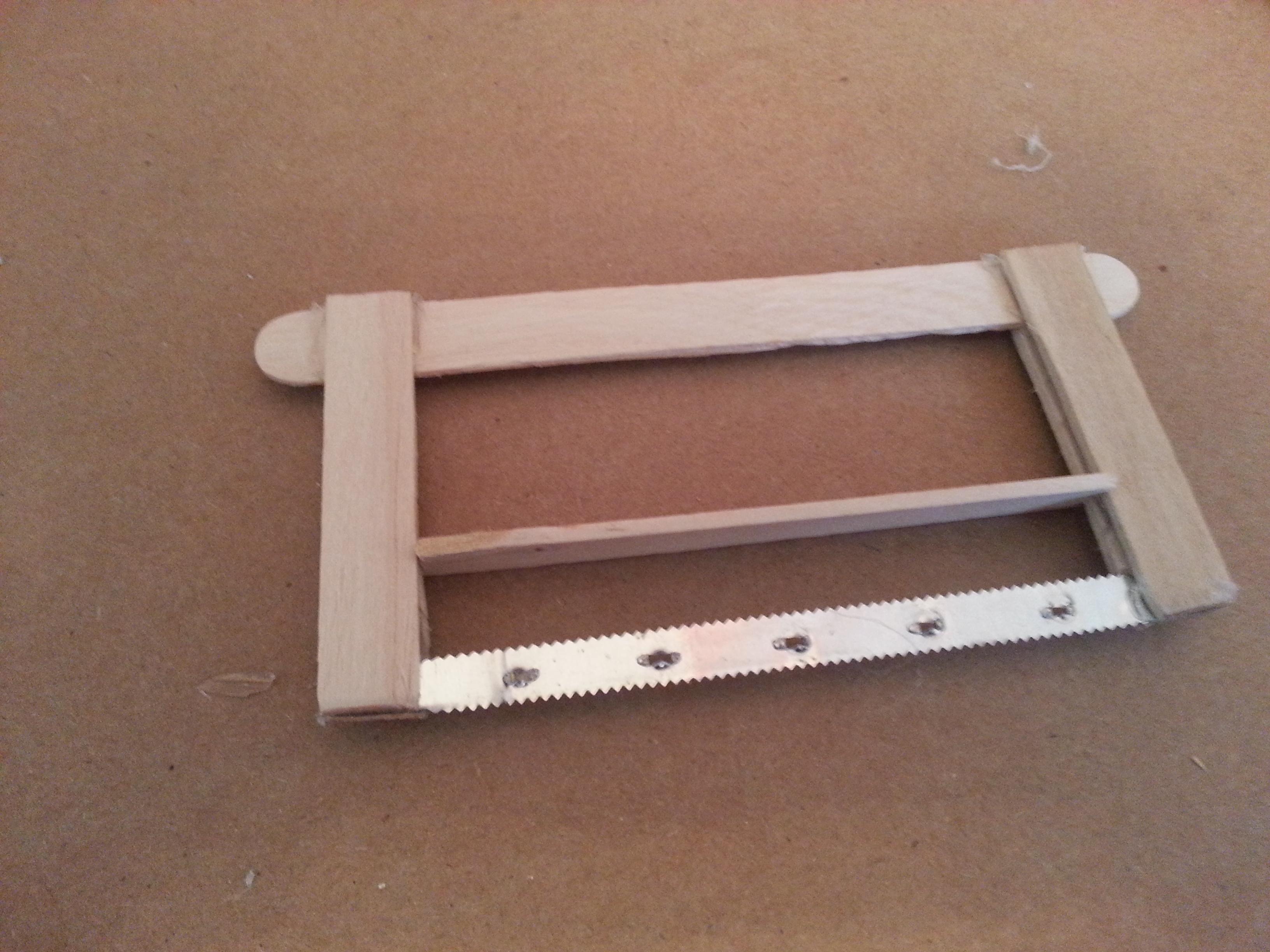 Picture of Diy Homemade Mini Hacksaw