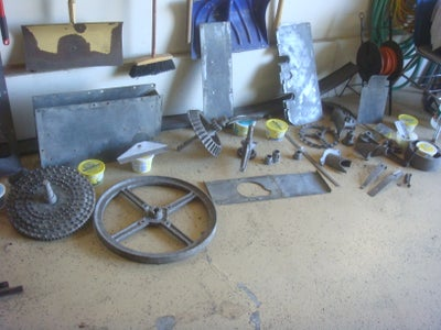 Cleaning by Sandblasting