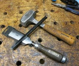 Masonry Chisels From Scrap Iron