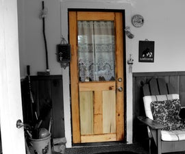 Building a Reclaimed Wood Door From Scratch (Mission Style)