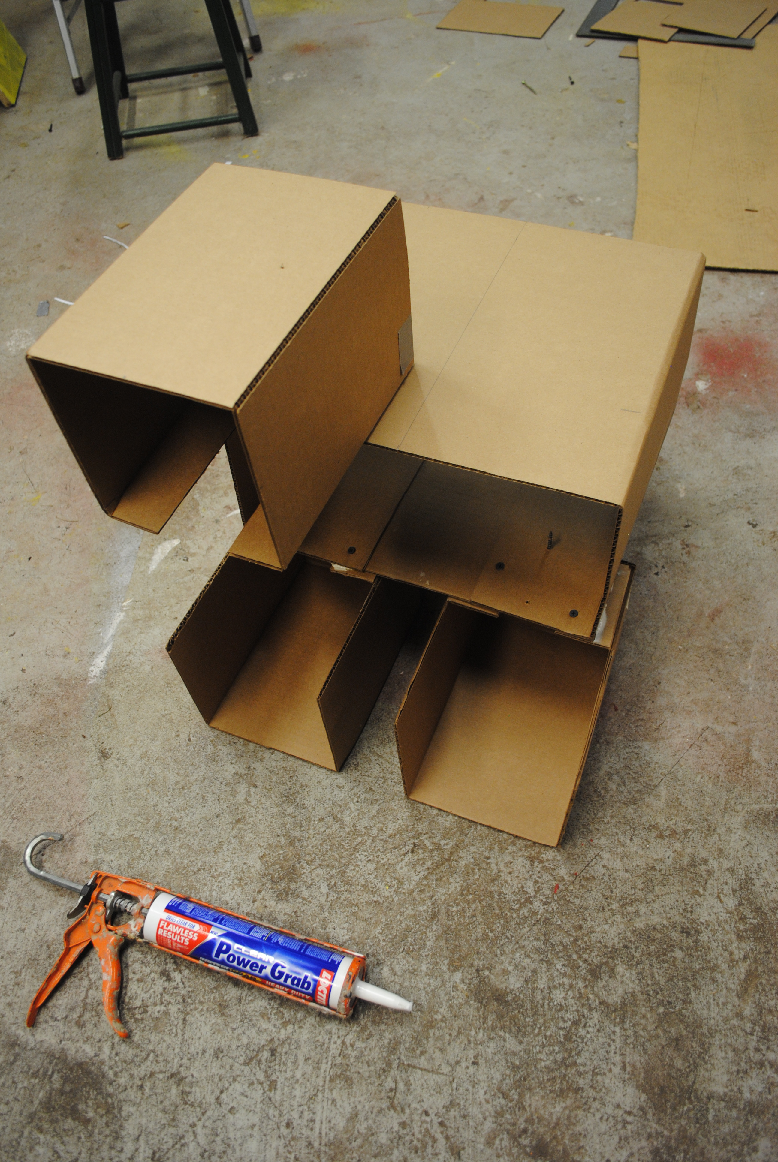 Picture of Make the Telescoping Legs