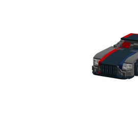 Lego Mercedes Benz AMG GT MOC