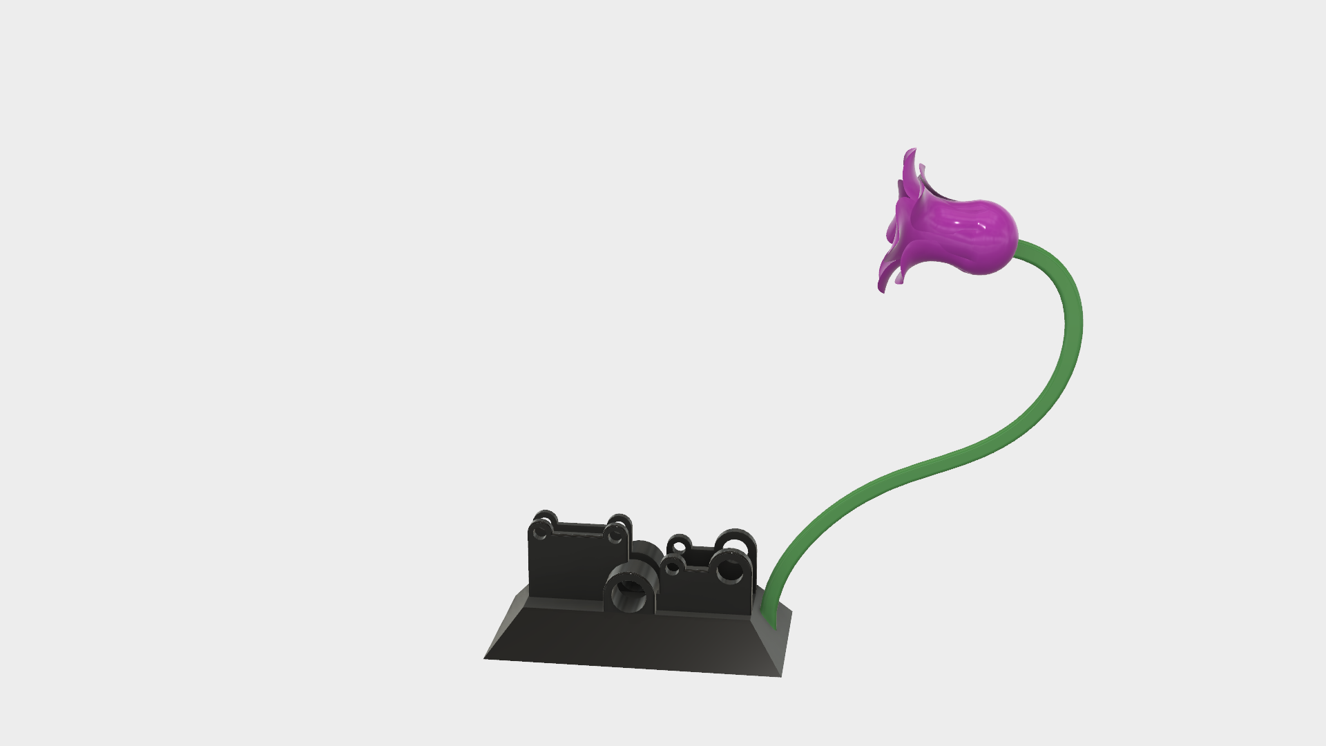Picture of Attach the Stem and Flower to the Base