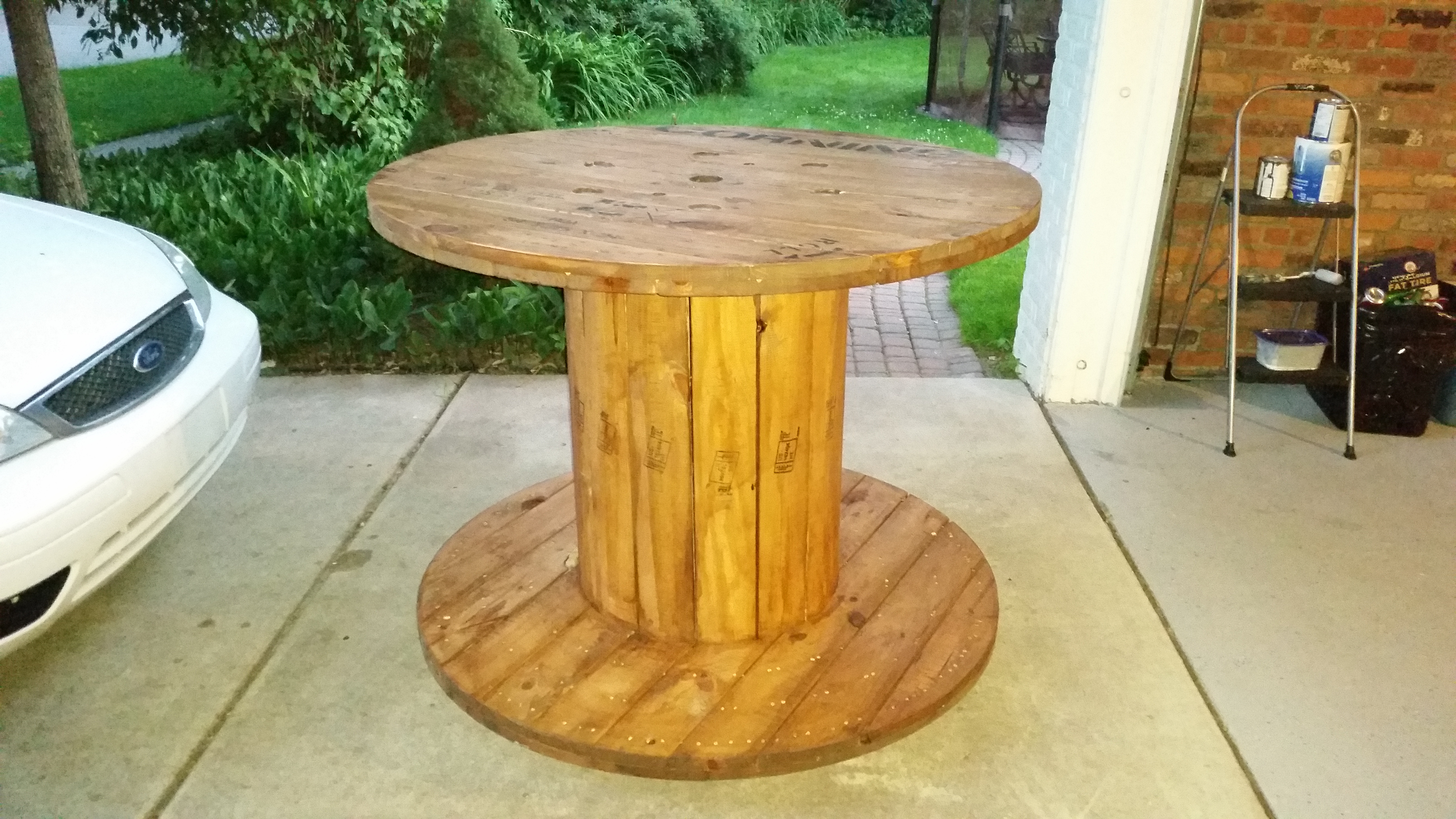 Picture of Cable Reel Table