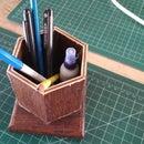 Hexagonal Pen Stand