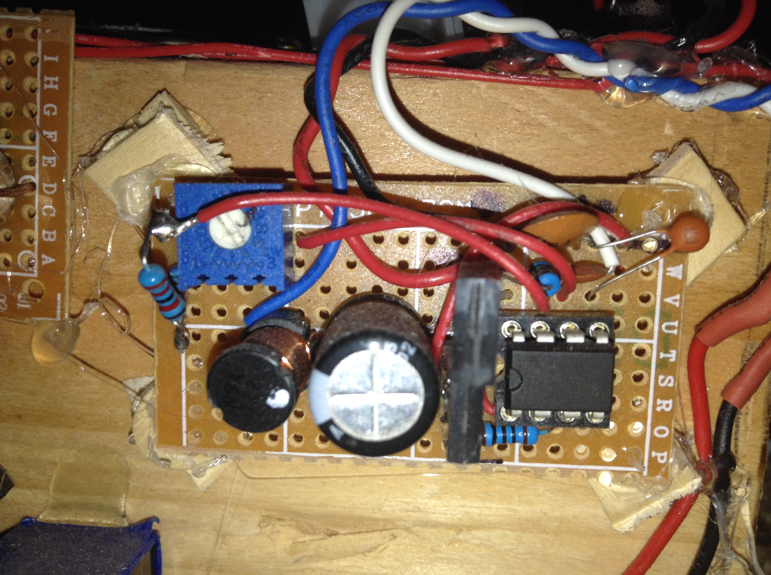 Picture of Assembling the Charge Circuit