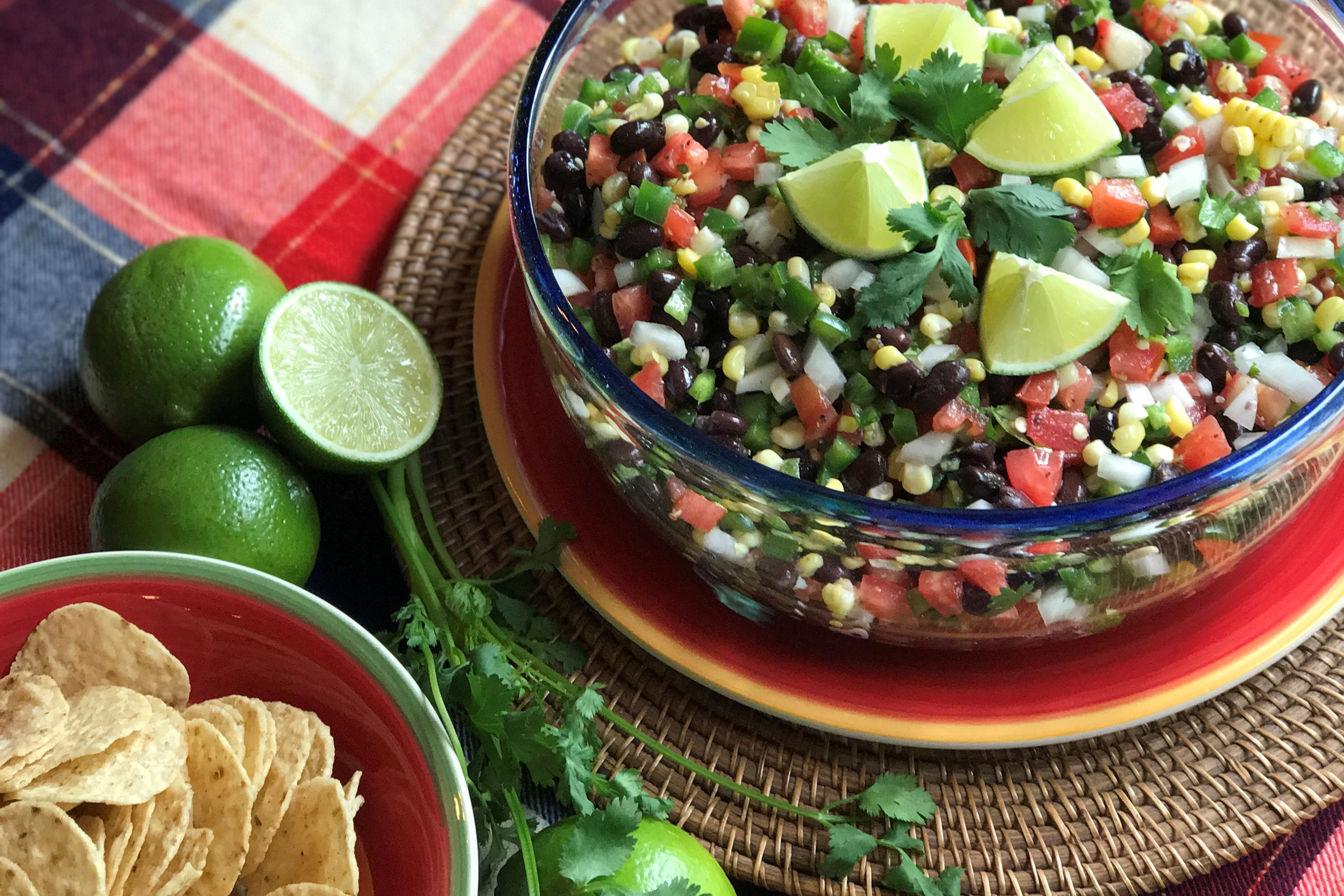 Picture of Corn and Black Bean Salsa