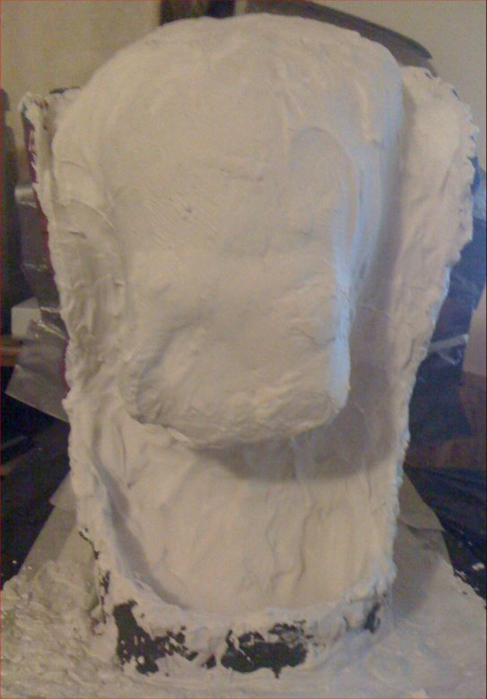 Picture of Adding the First Stage of Plaster
