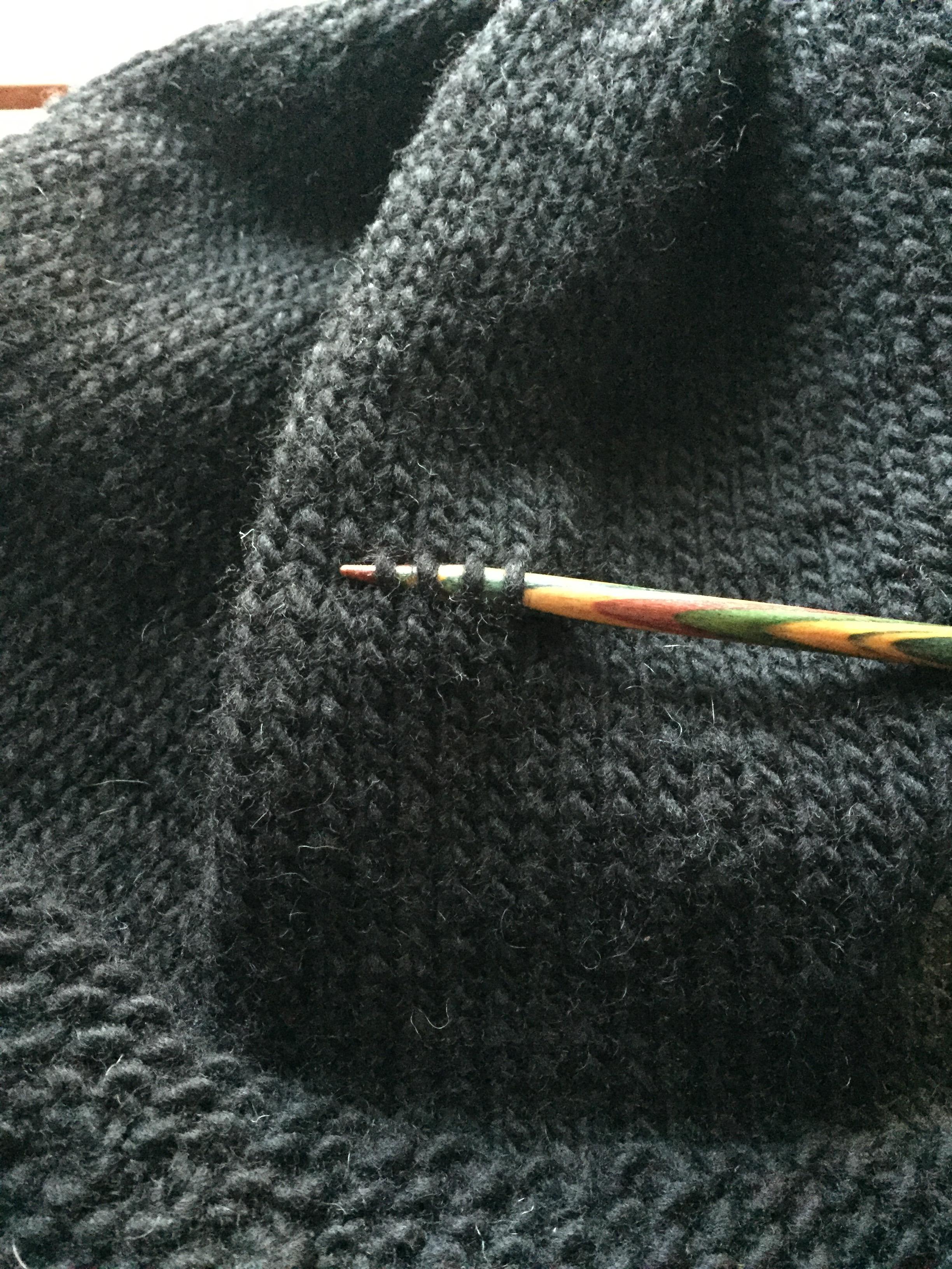 Picture of Step 2:  Adding in the Dark Grey Stripe