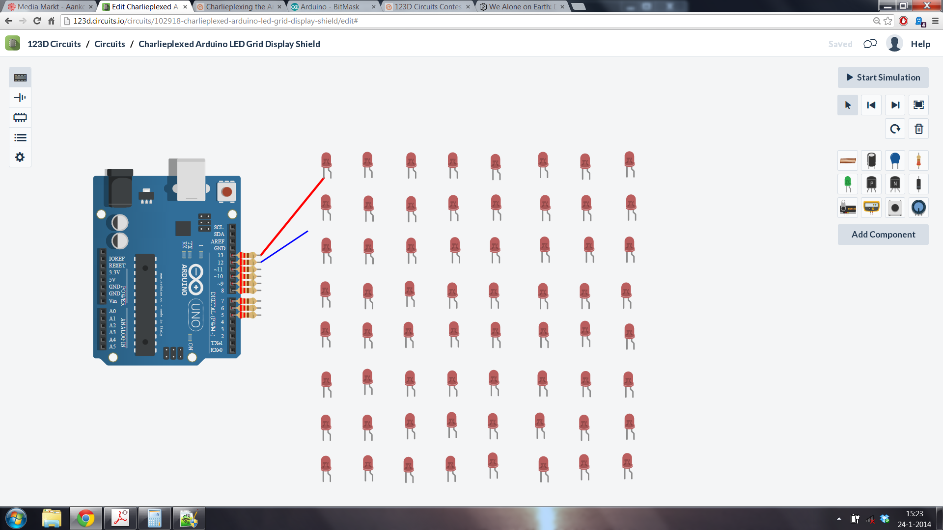 Picture of Make the (breadboardless) Circuit