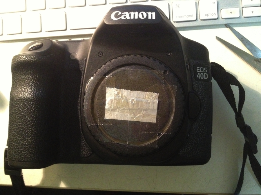 Picture of Dirt Cheap Pinhole Lens for DSLR