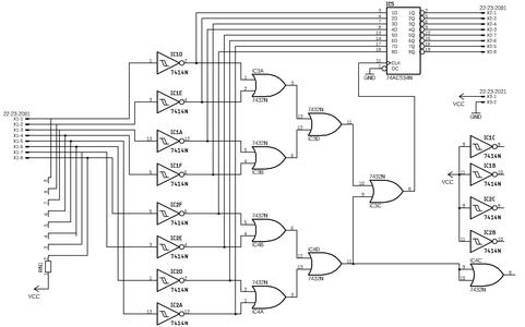 Logic Control Board - Eagle Design