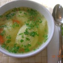 Amazing Chicken Soup with Dumplings