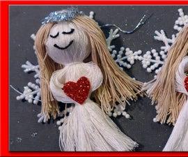 String Doll Snow Angel