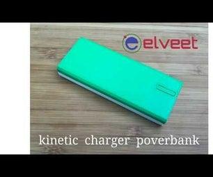 Elveet. Kinetic Charger Powerbank