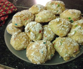 powdered party cookies!